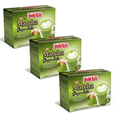 Gold Kili Instant Matcha Green Tea Ginger Latte - Pack 30 Sachets - Mado's Food Hall