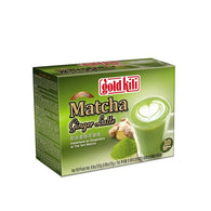 Gold Kili Instant Matcha Green Tea Ginger Latte - 10 Sachets - Mado's Food Hall