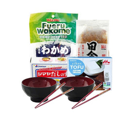 Kit Miso Soup Superior with 2 bowls & chopsticks - Mado's Food Hall