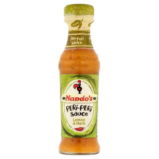 Nando's Peri Peri Sauce Lemon And Herb 125g (Pack of 6) - Mado's Food Hall