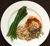 Chicken with morels sauce - 2 portions - Mado's Food Hall