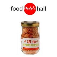 SALT with ESPELETTE CHILLI PEPPER - 100G - Mado's Food Hall