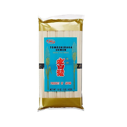JFC Dried Tomoshiraga Somen Noodles, 16-Ounce by JFC - Mado's Food Hall