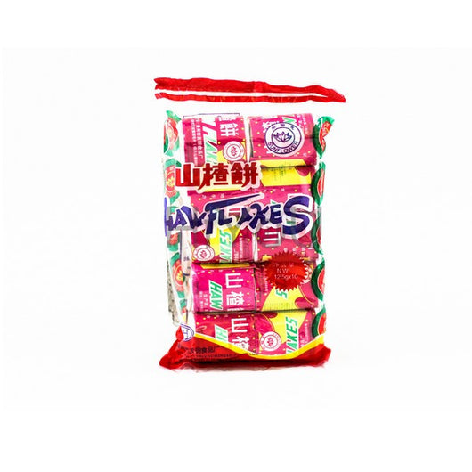 SUNFLOWER HAW FLAKES Hawthorn Traditional Chinese Candy Sweets - 140G - Mado's Food Hall