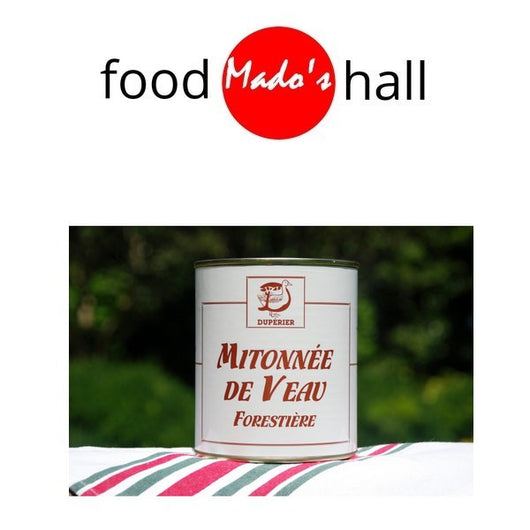 Mitonné de Veau Sauce Forestière - for 2 - Mado's Food Hall