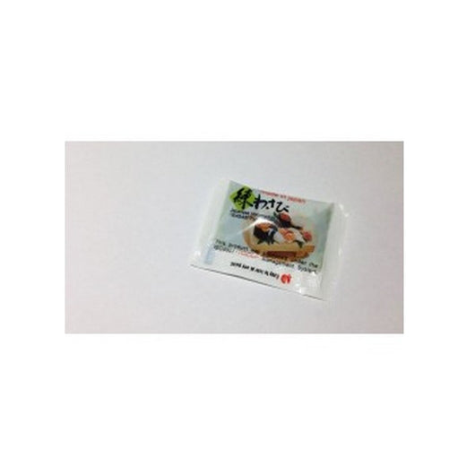 Sachets of wasabi paste for sushi Individual 3g x10 - Mado's Food Hall