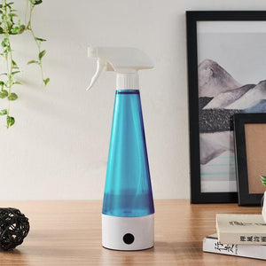 Disinfection Water Maker Portable USB | Electrolytic Disinfection Eco Spray Bottle Cleaner - Microblade Supplies