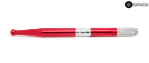 Microblading Pen | Alluminium - Red Metallic | Bulk Buy