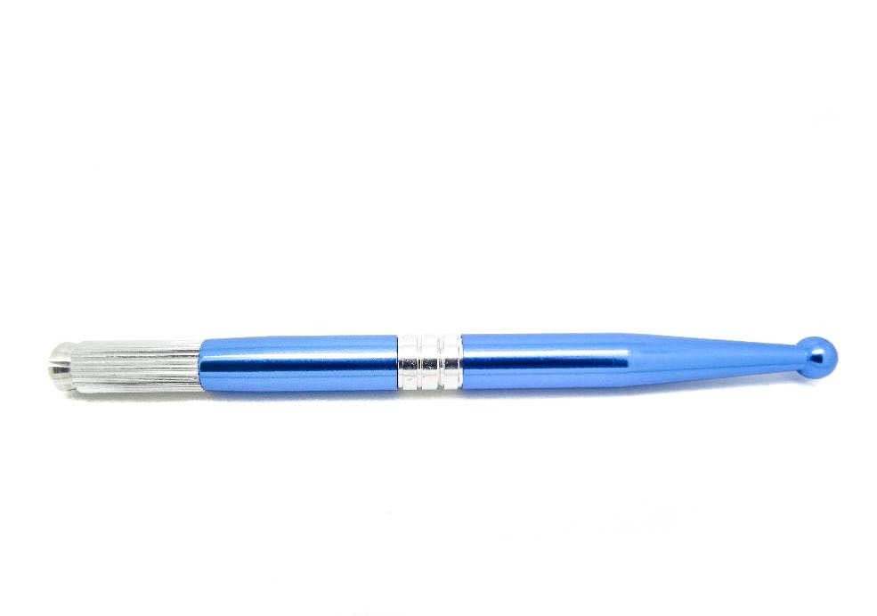 Microblading Pen | Manual - Blue Metallic