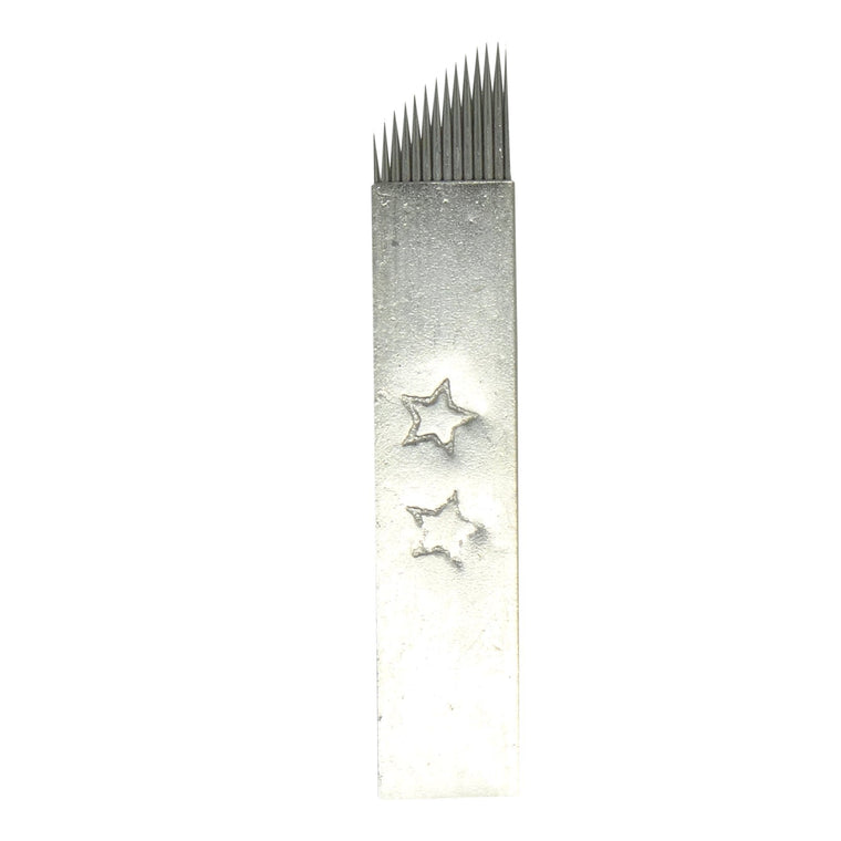 Microblading Needles | 2 Star Steel Cover - #14CF