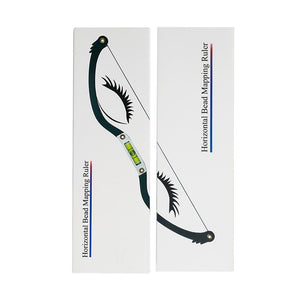 Eyebrow Mapping Bow Ruler Built-in Spirit Level - Microblade Supplies