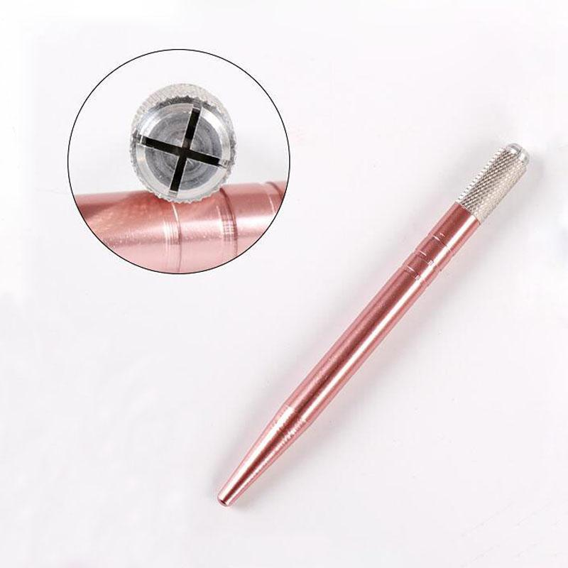 Microblading Pen | Metallic Rose Gold | Bulk Buy - Microblade Supplies