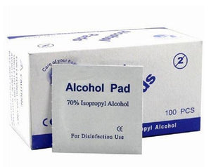 Pre-Injection Swabs 70% IPA Alcohol Wipes Microblading Tattoo Medical