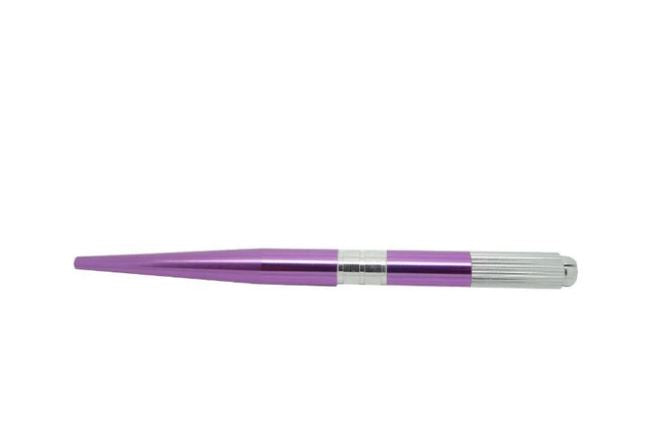 Microblading Pen | Aluminium | Purple Metallic - Bulk Buy - Microblade Supplies