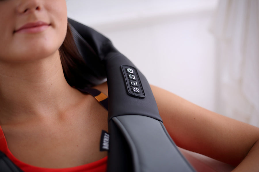 Reduce Back Pain and Sore Neck With a Massager