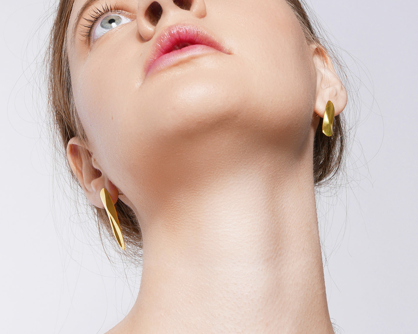 Mismatch Earrings Gold