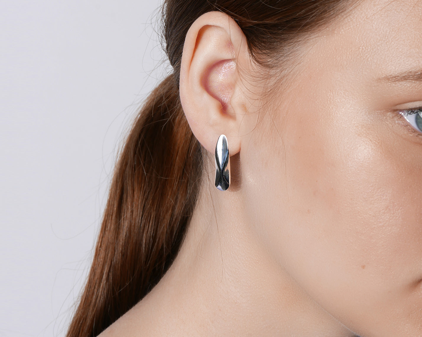 Mismatch Earrings Silver