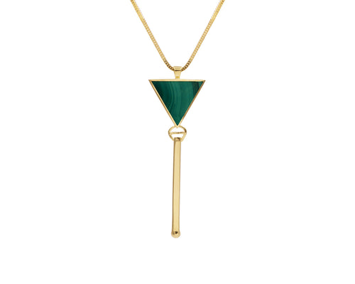 Triangolo Pendant Gold