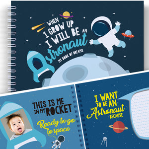 SPACE AND SCIENCE BOOK FOR KIDS. When I Grow Up I Will Be An Astronaut - Developmental Gifts for Children, Kids' Astronomy, Art Activity