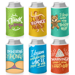 FUNNY CAN COOLIES: KOOZIES WITH HILARIOUS CONFESSIONS