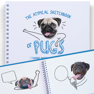 pugs coloring book