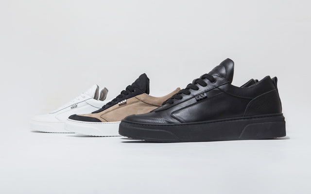 low top sneakers made in italy