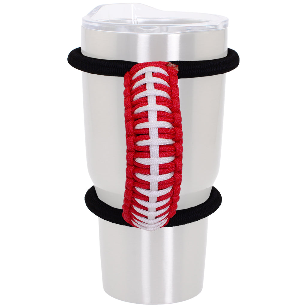 The Handie Handle - Sports Team Red and White