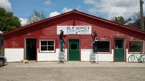 Future BLB Honey & Beekeeping Supplies storefront.