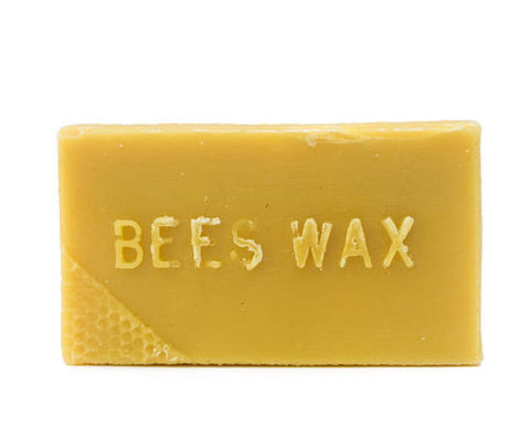 1LB Brick Pure Local Beeswax