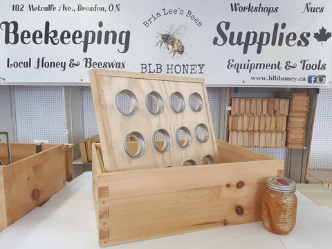 BLB Honey Mason Jar Honey Super Kit