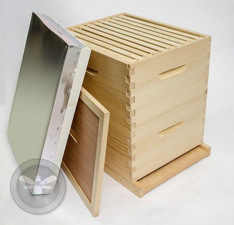 Double Box Hive Kit - Assembled