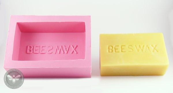 1LB Beeswax Bar Mould - Silicone