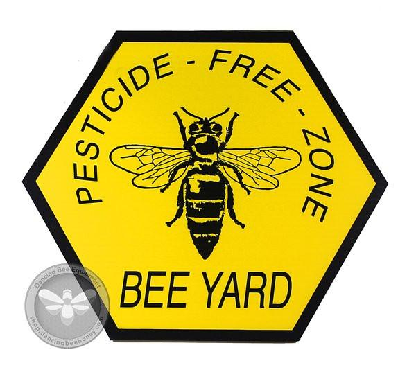 Pesticide Free Zone - Sign