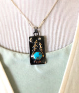 Between Two Pines Necklace with Sleeping Beauty Turquoise