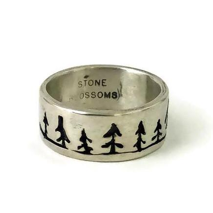 Dancing Trees Landscape Ring