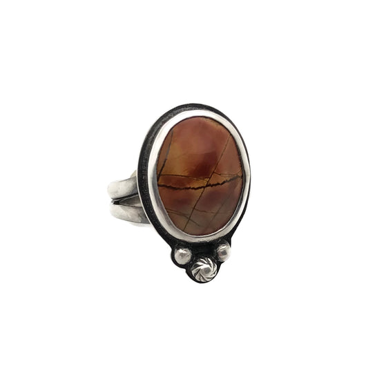 Red Creek Jasper Ring Size 7