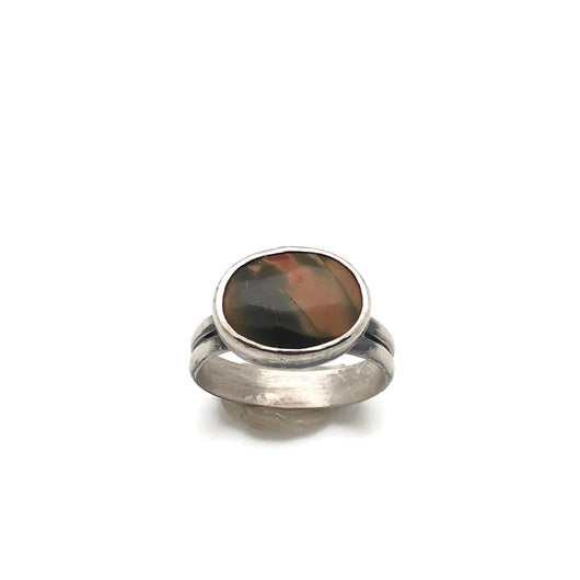Cherry Creek Rhyolite Ring Size 11.25