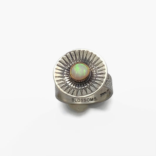 Opal Radiance Ring