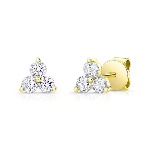 Diamond Trio Earring