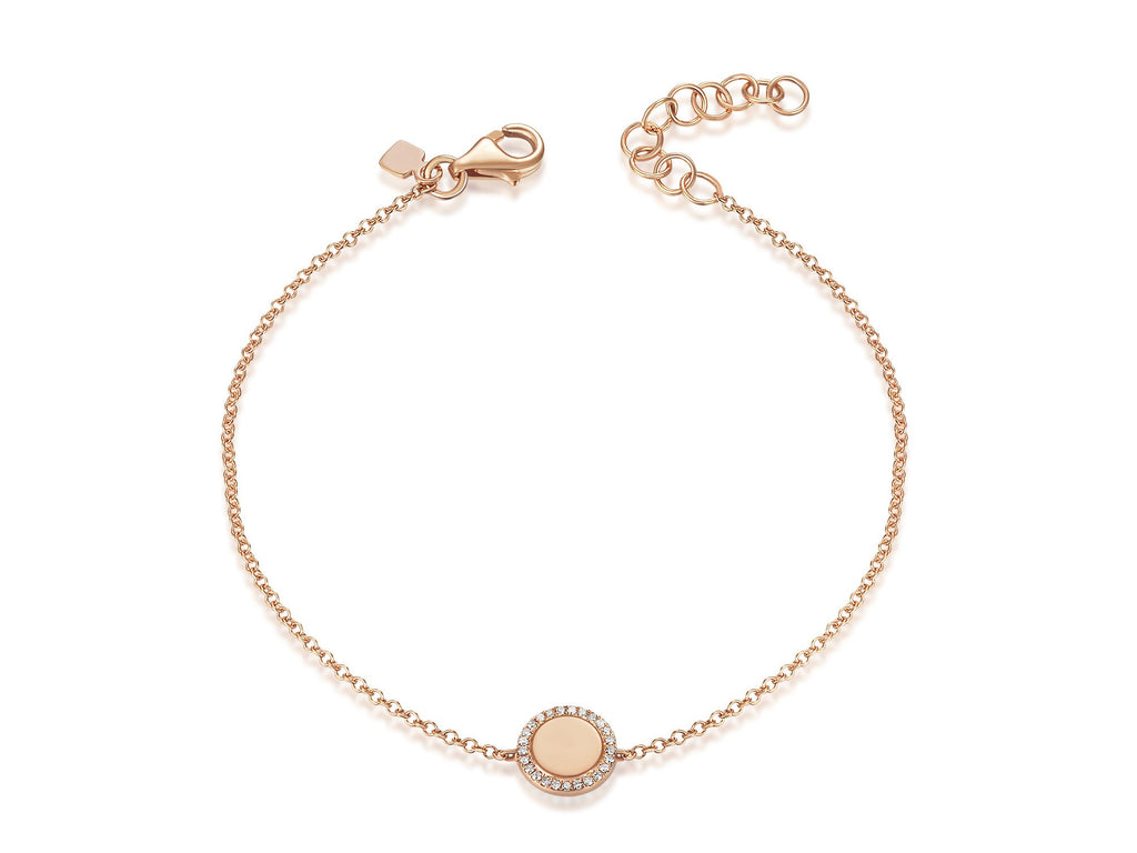 b bracelet diamond pearl products adornia halo
