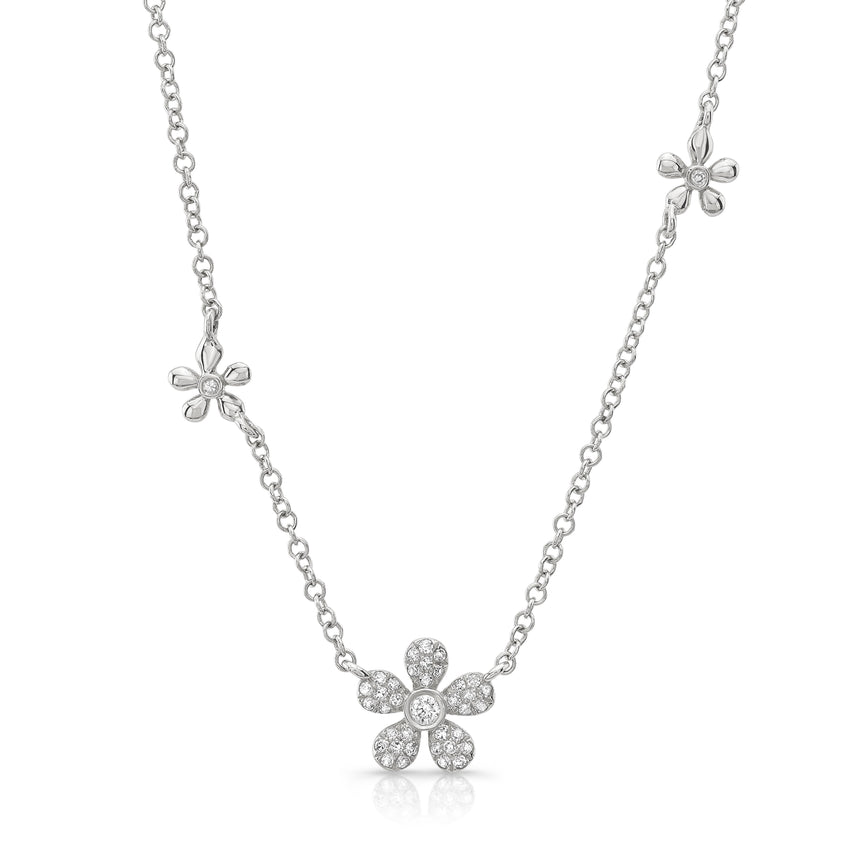 Flower Station Necklace