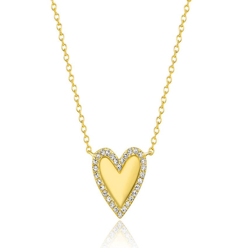Halo Heart Diamond