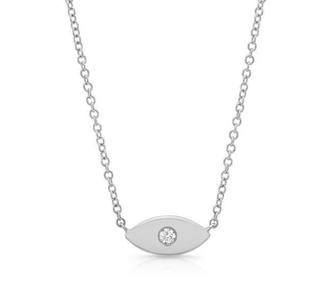Solid Evil Eye Necklace