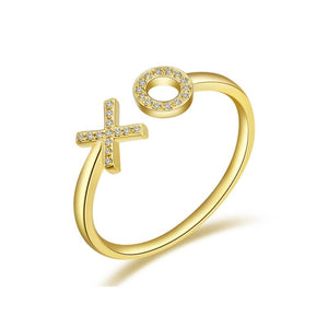 Diamond XO Ring