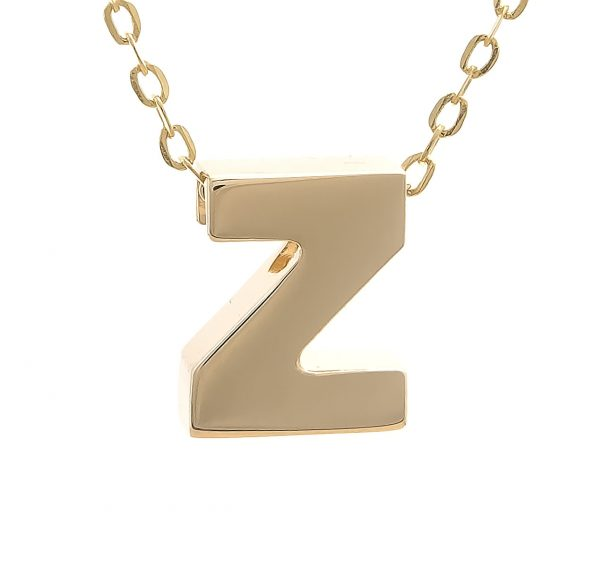 Bubble Initial Necklace