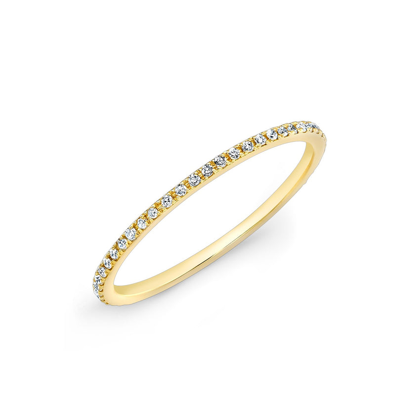 Micro Eternity Ring