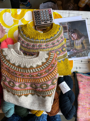 Azucena by Nadia Crétin-Lechenne from Worsted, a curated knitwear collection by Aimée Gille of La Bien Aimée