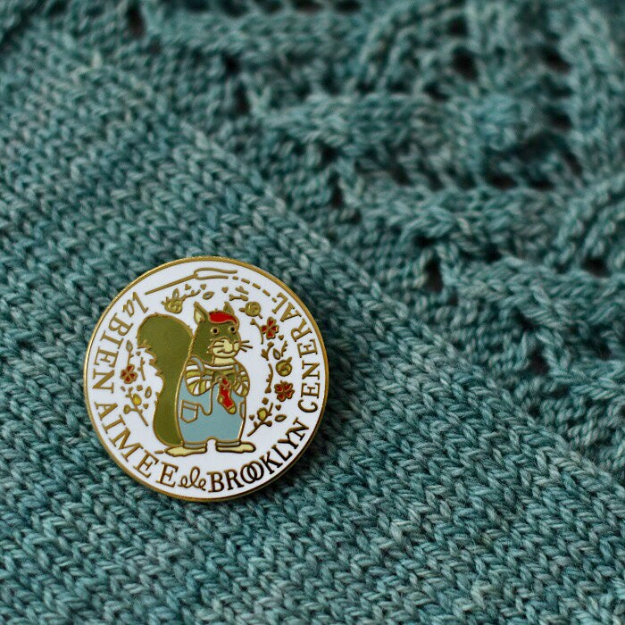 La Bien Aimée x Brooklyn General Store Enamel Pin