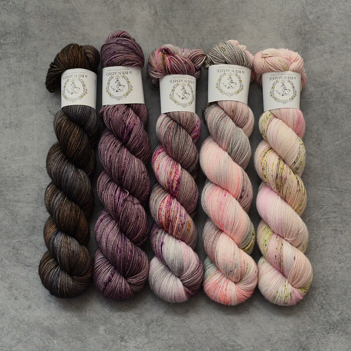 Fading Point Wrap Kit - Merino Twist