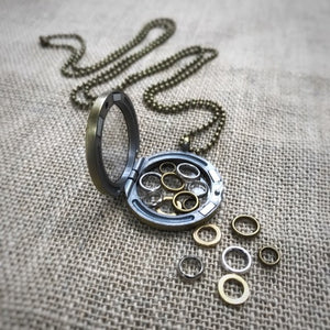 Mod Stitch Marker Necklace